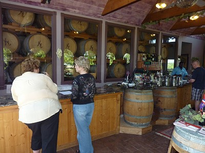 Kiepersol Winery - inside