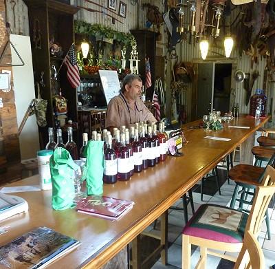 Dixie Wine - inside