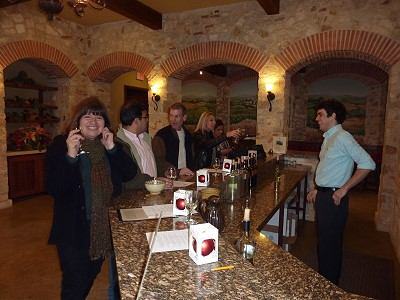 Duchman Family Winery - tasting