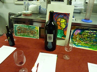 Caldwell Family Winery party - silent auction