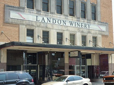 Landon Winery - Greenville- outside