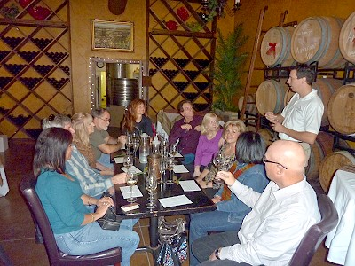 Landon Winery - private wine tasting
