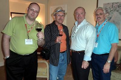 Mark, Russ, Terry, me