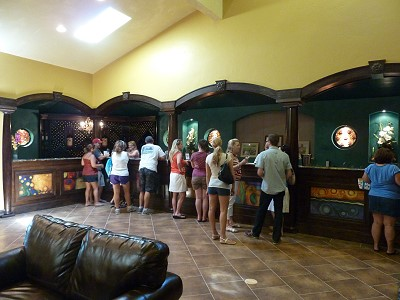 Wimberley visit - inside