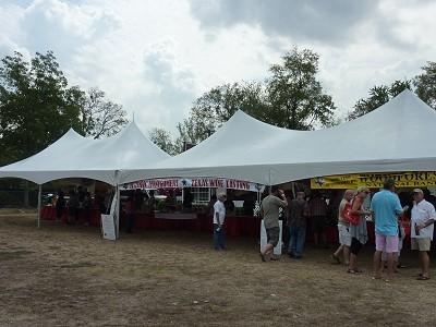 Montgomery Festival - Wine Tent