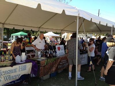 Autumn Fest - wine tent
