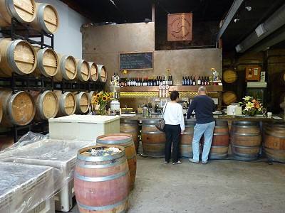 Carruth Cellars - inside
