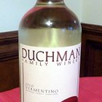Duchman Family Winery's 2010 Vermentino