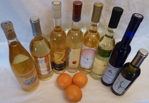 Orange Muscat - Texas wines