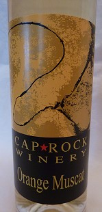 Orange Muscat - Cap*Rock Winery