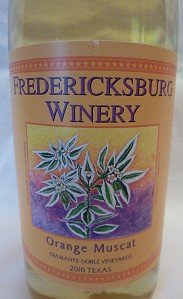 Orange Muscat - Fredericksburg Winery