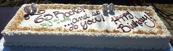 Messina Hof Birthday Bash - cake