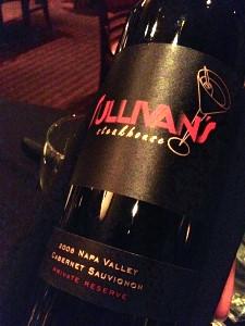 Sullivan's Steakhouse - Cabernet