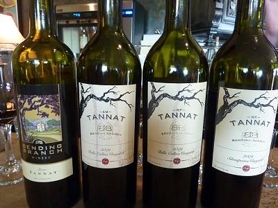 Bending Branch - Tannat wines