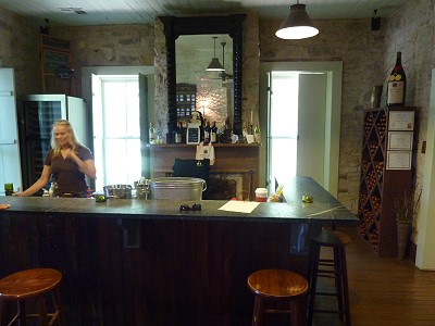 Brennan Vineyards - inside