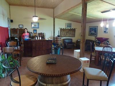 Darcy's Vineyard - inside