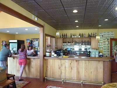 Lost Oak Winery- inside