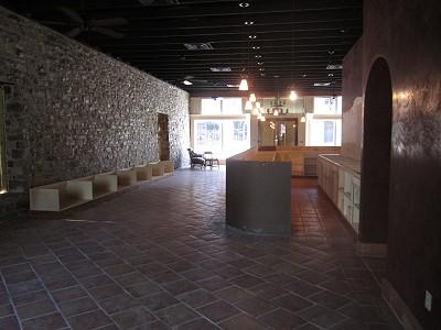 San Saba - tasting room