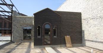 San Saba - rear entrance