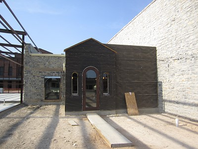 San Saba - rear entrance