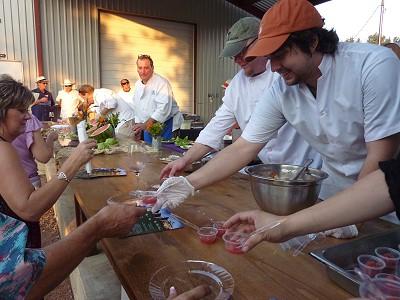 William-Chris event - chefs