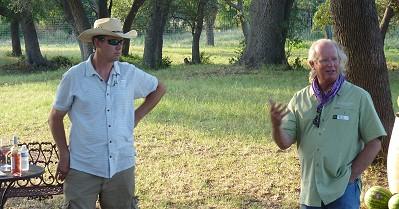 William-Chris event - Chris and Bill