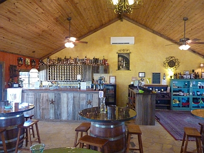 Fiesta Winery - inside