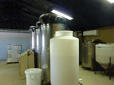 Fiesta Winery - tanks