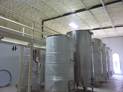 Wedding Oak Winery - tanks