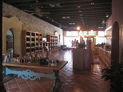 Wedding Oak Winery - inside