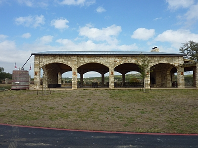 Flat Creek - pavilion