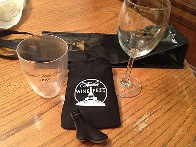 Houston Wine Fest - VIP Kit