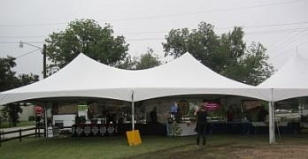 2012 Montgomery Wine Fest - left tent