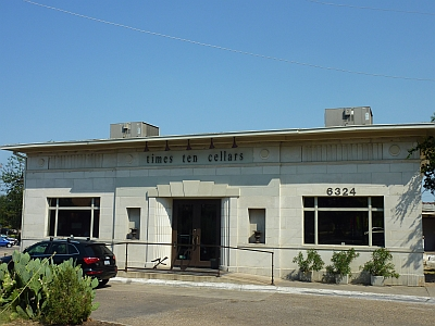 Times Ten Cellars - outside & Times Ten Cellars - Dallas | Texas Wine Lover