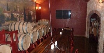 Clear Creek - barrel room