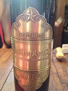 Empty Glass - bottle