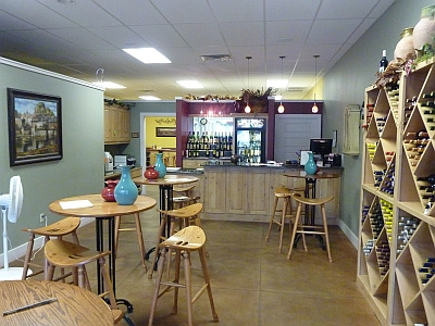 Water 2 Wine - Fredericksburg inside