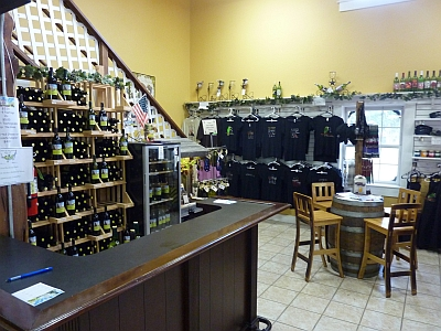 Winery on the Gruene - gift shop
