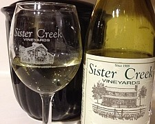 Sister Creek Muscat Canelli Blind Tasting