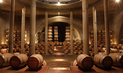 Salentein - barrel room