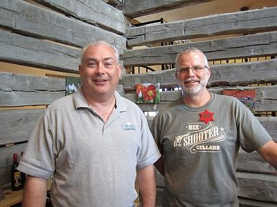 David Skinner and Bob Besgrove