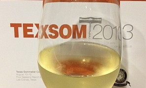 TEXSOM 2013 - wine glass