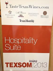 TEXSOM 2013 - Texas Hospitality Suite