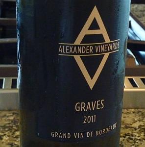Alexander Vineyards - Graves