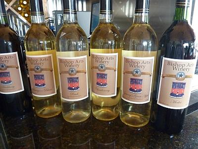 Bishop Arts Winery - wines