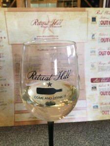 Retreat Hill - wine glass