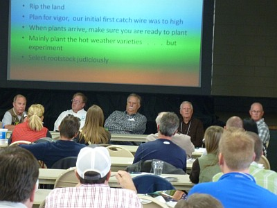 2013 Grape Camp - panel