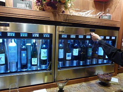 Boerne Wine Company - Enomatic machine
