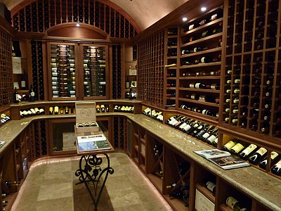 Boerne Wine Company - wine room