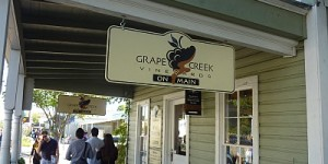 Grape Creek - Main Street outside